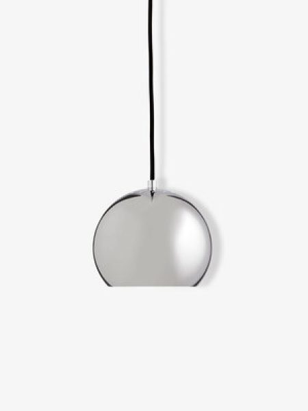 Ball-pendant-18-cm-chrome-matt-black-cord-1115