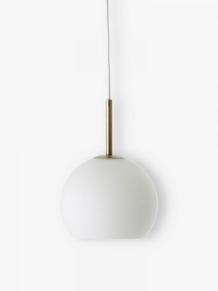 Ball-pendant-glass-18-cm-white-matt-antique-brass-1576