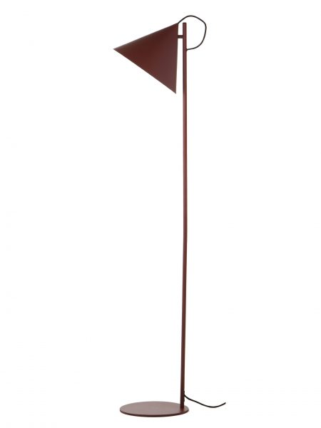 Benjamin floor lamp dust red matt 3493